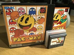 Pac-Man Neo Geo Pocket Color Colour Game Complete Pal UK