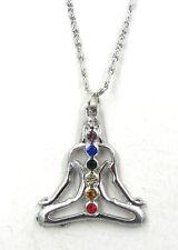 Seven Chakras Orgone Crystal Healing Energy  Pendant Buda Meditation YOGA Amulet
