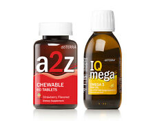 doTERRA A2Z Chewable & IQ Mega Set + FREE 1ml Oil - New & Sealed FREE Shipping