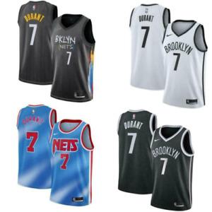 NBA #7 Kevin Durant Brooklyn Nets Statement Swingman ICON Jersey