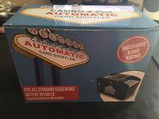 Casino Automatic 4 Deck Card Shuffler w/ Original Box ~ Nice Unused Condition!