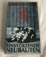 EINSTURZENDE NEUBAUTEN LIEBESLIEDER VHS TESTED & WORKING VERY RARE PAL TAPE