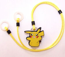 Childs 2 sided Hearing Aids safety Leash loss RETAINER CORD CLIP ..PICACHU