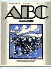 A-B-C Magazine  1928 animaux en peinture,mosaïque,art religieux,propos Lhote