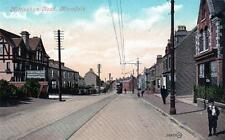 Mansfield Nottingham Road old postcard used  1907 Valentines