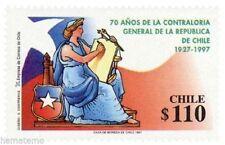 Chile 1997 #1868 70 años Contraloria General de la Republica MNH