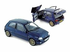 NOREV - RENAULT CLIO WILLIAMS PHASE 1 METALLIC BLUE GOLD WHEELS 1:18 SCALE