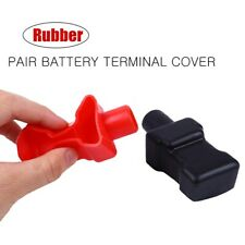 1Pair Top Post Battery Terminal Insulating Rubber Protector Cover for 18mm Cable