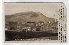 VIEW OF MT. HELENA, HELENA: Montana USA postcard (C24498)