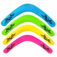 Set of 4 x Mini FLYING DISC Party Bag Filler Prize Toy TRI WING BOOMERANG