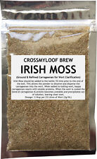 Irish Moss. 35g Beer Wort Kettle Finings. Clearing Home Brew Protafloc brewing