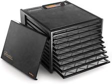 Excalibur 3900B Solid Door 9 Tray Food Dehydrator Black New