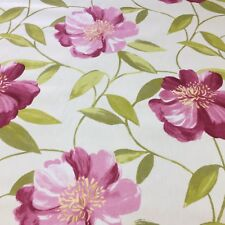 Honolulu Fuschia Cotton Fabric by Prestigious Textiles