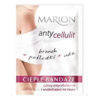 Marion AntiI Cellulite Hot Bandages for Body Smoothing Warm Treatment 2 Pcs