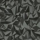 P&S Times 42097-50 Design Tapete Vlies schwarz grau 3D Optik Modern (2,49€/1qm)