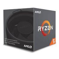 AMD Ryzen 5 2600 3.4GHz Hexa Core AM4 CPU with Cooler.