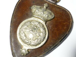 19thC Australian NEW SOUTH WALES Lancers Victorian Horse Brass Badge #HB52
