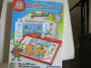 JEU EDUCATIF LE PETIT SAVANT + 200 QUIZZ ET ACTIVITES EDUCATIVES NEUF DES 4 ANS