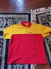 DHL Poloshirt Größe XL rot/gelb Uniform Post Kostüm gebraucht