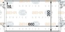 8FC 351 300-344 HELLA Condenser  air conditioning