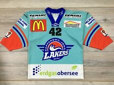 SC Rapperswil-Jona Lakers #42 Ice Hockey TFS Jersey Trikot Shirt Rare size M