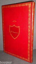 DOMNICH Méthode de premier et de second cor PLEIN MAROQUIN ex. de présent 1808