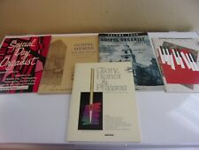 5 Music Books for Organ Hymns Special Days Christmas
