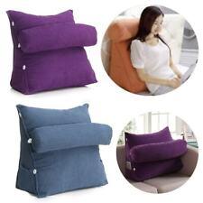 45x40x22cm Triangular Cushion Chair Backrest Lounger Lazy Reading Back Pillow