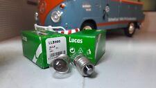 2 Lucas 6V 2W Mes E10 Füller Glühbirnen llb990 glb990 Vintage Klassiker