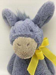 Jellycat Bashful Donkey Plush Stuffed Animal Toy Retired