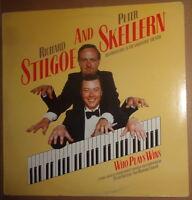 Richard Stilgoe and Peter Skellern - Who Plays Wins - LP. Safari Scene 1. 1985