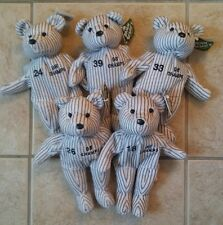 SALVINO'S BAMM BEANO'S Bears Set of 5 Yankees 1998 World Series Strawberry Wells
