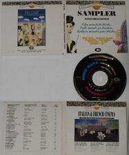 Nino Rota Ennio Morricone Donaggio, Rosza, Delerue  Italy promo cd, digipak