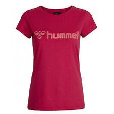 T-shirt da Donna Hummel Classic Bee SS Tee Rosso Rosa - Virtual Pink L