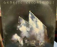 GENESIS SECONDS OUT 2LP 1977 ATLANTIC SD29002 GATEFOLD INNERS