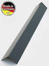 Alu Winkel Blech, Alu Blechwinkel, Kante, Winkel 90° Eckwinkel Grau RAL 7016