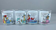 Hallmark Maxine Lot Maxine Christmas Plastic Cups Set of four with sayings.