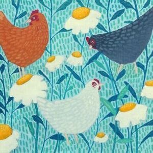 Chickens Chicken Greetings Card - Ailsa Black birthday