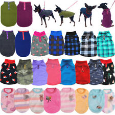 Puppy Dog Clothes T Shirt Small Dog Chihuahua Pet Vest Warm Fleece Sweater Tee