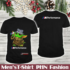BMW M/Speed/Top Men's US 2D T-Shirt/Yoda Green So Cute/Logo In The Back/Hot Gift