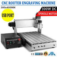 CNC Router 3040 DIY 3-Axis Engraver Engraving Milling Machine Desktop&USB