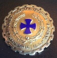 Methodist Hospital Training School Peoria ILL 10K Gold Nursing Pin