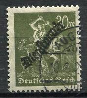 Reich 1923 Mi. 76 Gestempelt 100% dienstmarken 30 M