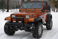JEEP WRANGLER YJ (1987-1996)  FENDER FLARES 6 INCHES / ARCH EXTENSIONS