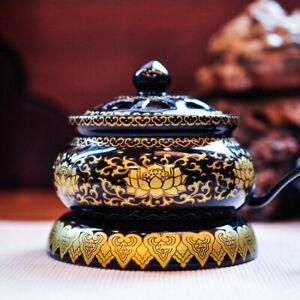 Lotus Electric Incense Bakhoor Burner Heater ( for Agarwood, Frankincense) (A1)
