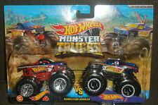 2021 Hot Wheels Monster Trucks Hw 4 Vs Hw 1 Demolition Doubles Diecast