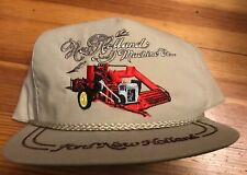 90'S FORD NEW HOLLAND MACHINE CO. STRAP-BACK HAT CAP GOLF USA K brand