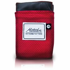 Matador V2 - Pocket Sized, Water Repellent, Ultra Compact  Picnic Blanket - RED