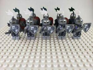 Lego custom Castle Minifigures Crusader Knight skeletons Lot