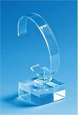 50PCS/item Clear Acrylic Watch Display Rack Holder Show Stand with base General